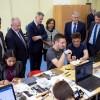 Digitális Közösségi Alkotóműhelyt avattak a Zsigmondy-iskolában, fotó: Gergely Szilárd