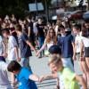 Néptánc flashmob az Erzsébet téren, fotó: Gergely Szilárd