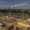 A nagykanizsai multifunkcionális rendezvény- és sportcsarnok építése., fotó: Czigóth Sándor
