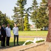 A roma holokauszt áldozataira emlékeztek Nagykanizsán, fotó: Horváth Zoltán
