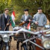 Kerékpárral az itthon maradottak tiszteletére, fotó: Horváth Zoltán