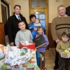 Ajándék a Takács családnak, fotó: Gergely Szilárd