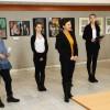 Kiállítás 40 év alkotásaiból, fotó: Bakonyi Erzsébet