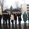 Főhajtás a kommunizmus áldozatai előtt , fotó: Bakonyi Erzsébet