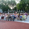 Azeri est a Zenepavilonnál, fotó: Bakonyi Erzsébet