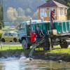 Haltelepítés a Csónakázó-tónál