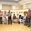 Vonyarcvashegyi alkotók tárlata, fotó: Bakonyi Erzsébet