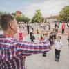 Táncosok a téren, fotó: Jancsi László