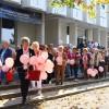 A mellrák elleni séta napja, fotó: Bakonyi Erzsébet