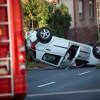 Újabb baleset a Dózsa György utcában, fotó: Gergely Szilárd