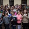 Címeravató ünnepséget tartottak a Zrínyi iskolában, fotó: Gergely Szilárd